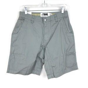 Mountain Khakis Lake Lodge Twill Shorts Gray NEW